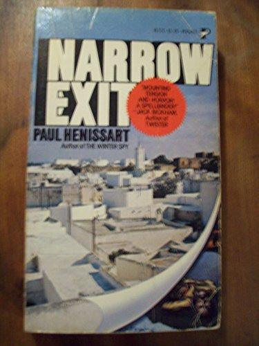 9780671817213: Narrow Exit