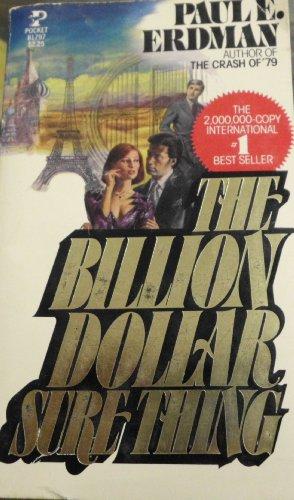 9780671817978: Billion Dollar Sure Thing