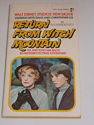9780671819118: Return from Witch Mountain