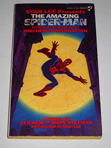 9780671820442: Mayhem Manhattan (Stan Lee Present's The Amazing Spider-Man)