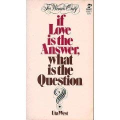 9780671820565: IF LOVE IS the ANSWER. What is the Question? (Kangaroo Book)