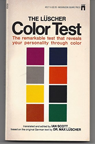 9780671822477: The Luscher Color Test