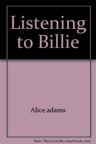 9780671823160: Listening to Billie