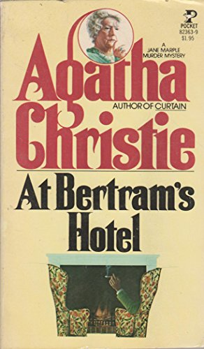 9780671823634: Title: At Bertrams Hotel A Jane Marple Murder Mystery