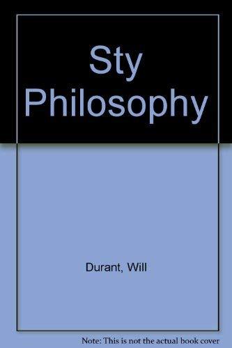 9780671823719: Sty Philosophy