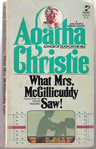 What McGillicuddy Saw (0671824228) by Christie, Agatha