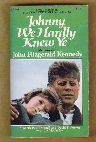9780671824372: Johnny, We Hardly Knew Ye