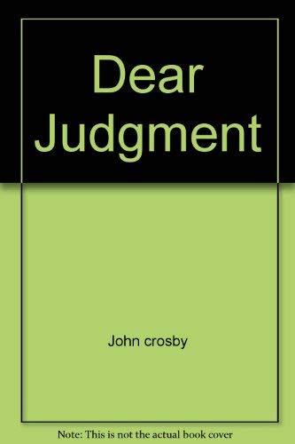 Dear Judgment: crosby, John