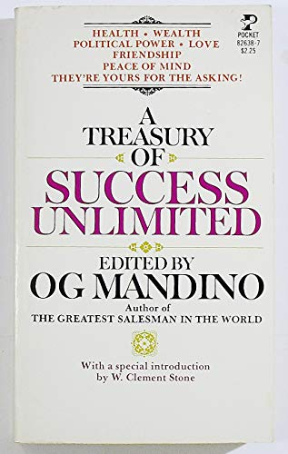9780671826383: A Treasury of Success Unlimited