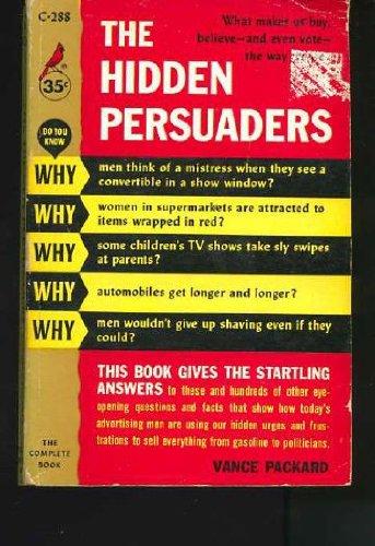 9780671826635: The Hidden Persuaders