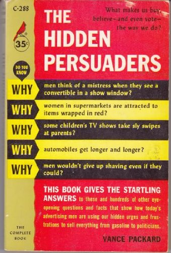 9780671826635: The Hidden Persuaders (Cardinal edition, C-288, 8)