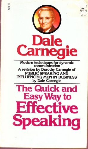 9780671827472: Title: The Quick and Easy Way to Effective Speaking