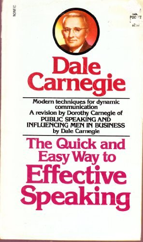 9780671827472: The Quick and Easy Way to Effective Speaking
