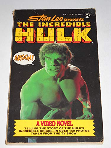 9780671828271: Incredible Hulk (Video novel)
