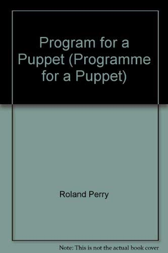 9780671828707: Program For A Puppet