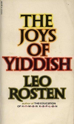 9780671830090: The joys of Yiddish