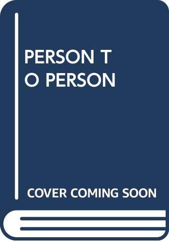 9780671830366: Person to Person