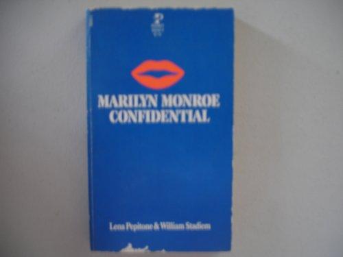 9780671830380: Marilyn Monroe Confidential