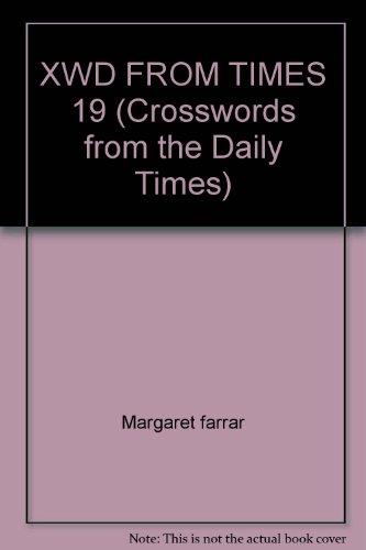 XWD FROM TIMES 19: Margaret farrar