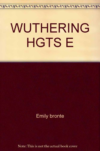 9780671833527: Wuthering Hgts E