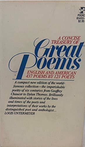 9780671834036: Treasury of Great Poems