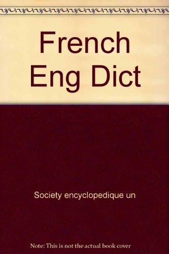 Larousse's French-English English-French Dictionary: Larousse