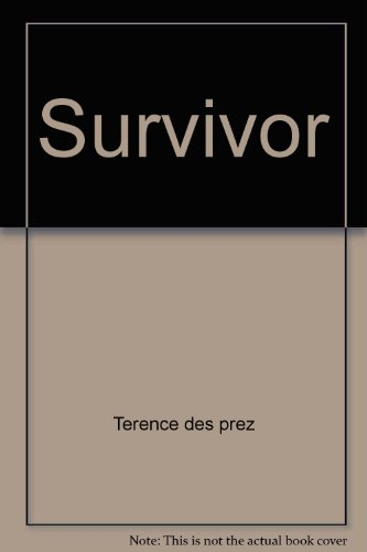 9780671834791: The Survivor: An Anatomy of Life in the Death Camps