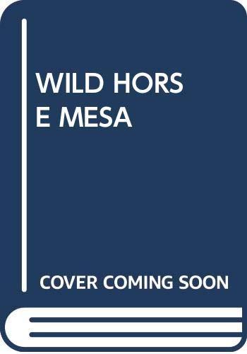 9780671835880: Wild Horse Mesa
