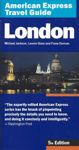9780671847500: American Express Travel Guide London, 5th Edition