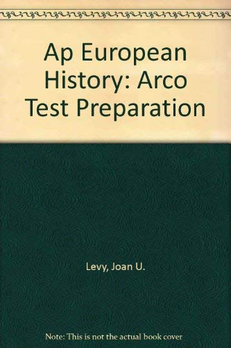 9780671847777: Ap European History (Arco Test Preparation)