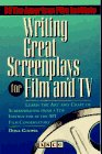 9780671847838: Writing Great Screenplays for Film and TV