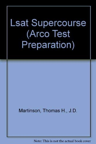 9780671848491: Lsat Supercourse (Arco Test Preparation)