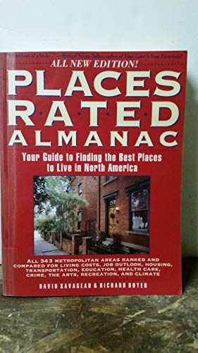 9780671849474: Places Rated Almanac (Frommer's single title travel guides)