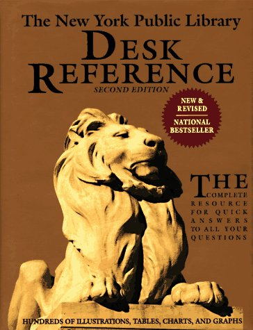 9780671850142: The New York Public Library Desk Reference