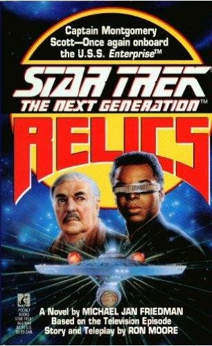 9780671851064: Star Trek - the Next Generation: Relics
