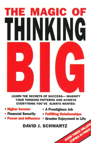 9780671854218: The Magic of Thinking Big