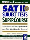 Sat II Subject Tests Supercourse (0671864033) by Martinson, Thomas H.; Fazzone, Juliana
