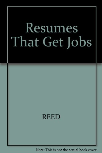 9780671864040: Resumes That Get Jobs (Arco Resumes That Get Jobs)
