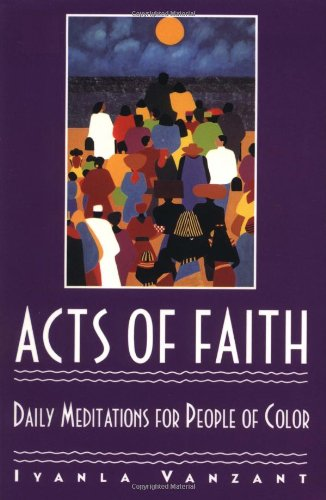 9780671864163: Acts of Faith: Daily Meditations for People of Color
