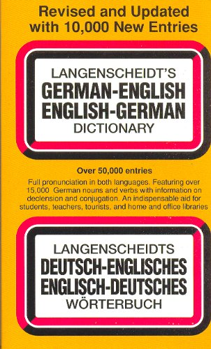 9780671864194: Langenscheidt's German-English, English-German Dictionary: Revised and Updated with 10, 000 New Entries : Two Volumes in One (Langenscheidt's Pocket Dictionaries)
