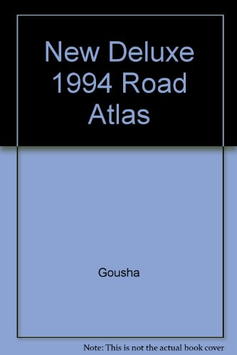 9780671864743: New Deluxe 1994 Road Atlas