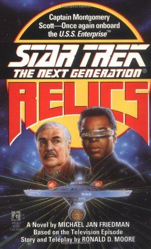 9780671864767: Star Trek - the Next Generation: Relics
