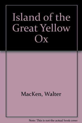9780671866891: Island of the Great Yellow Ox (Digest Paperback)