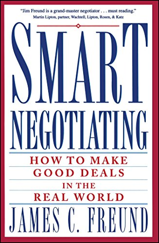 9780671869212: Smart Negotiating: How to Make Good Deals in the Real World