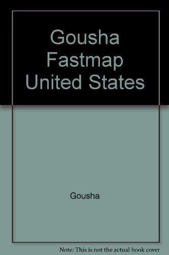 9780671869359: Gousha Fastmap United States
