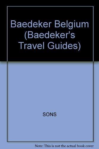Baedeker's Belgium: Karl Baedeker