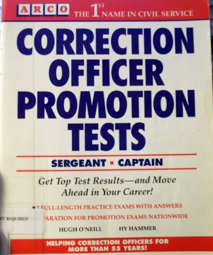 9780671874247: Correction Officer Promotion Tests