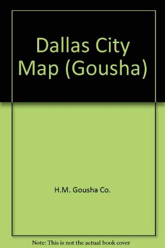9780671875718: Dallas City Map (Gousha)