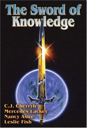 The Sword of Knowledge 9780671876456 The Empire of Sabis is falling, besieged by the army of a more powerful empire. A small group of philosopher-scientists could reverse the tide if they could convince the rulers of Sabis to build the deadly new weapon that they have invented.
