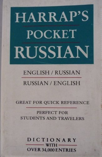 9780671879952: Harrap's Pocket Dictionary: English-Russian Russian-English (English and Russian Edition)